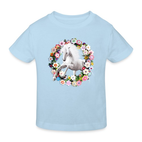 Horse Jump - Ekologisk T-shirt barn