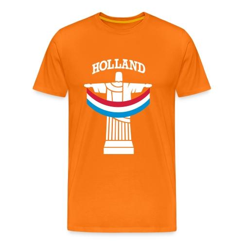 wk brasil - Mannen Premium T-shirt