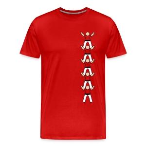 Team Up 5 - Mannen Premium T-shirt