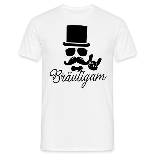 Bräutigam - Gentleman - Männer T-Shirt
