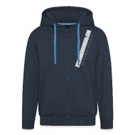 Pullover & Hoodies ~ Männer Premium Kapuzenjacke ~ ZIEH MICH AN!