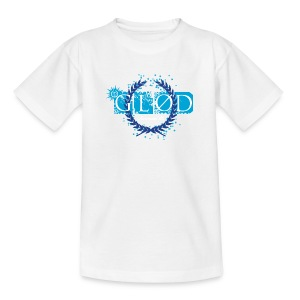 Glød T-shirt barn hvit - T-skjorte for barn