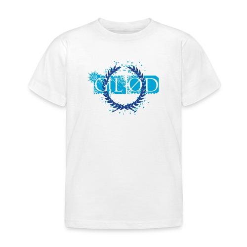 Glød T-shirt barn hvit - T-skjorte for barn