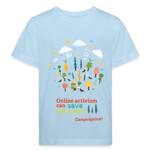Forest  Kid blue - Kids' Organic T-Shirt