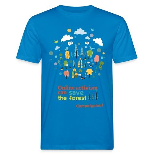 Forest Gents blue - Men's Organic T-Shirt