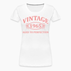 Vintage 1965 Aged to Perfection T-Shirts