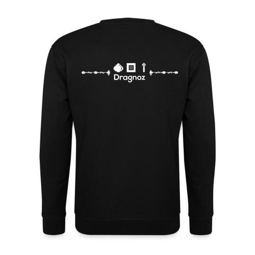 Dragnoz Sweatshirt White Logo - Men's Sweatshirt