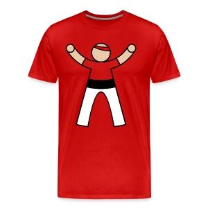 Casteller 1 Poañuelo - Mannen Premium T-shirt