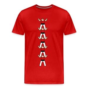 Casteller 5 Poañuelo - Mannen Premium T-shirt