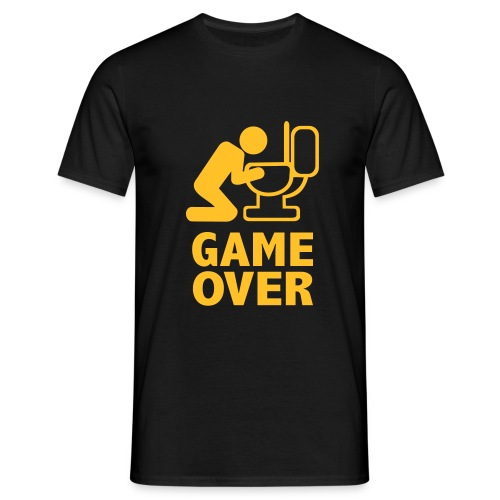 Game Over Herren Shirt - Männer T-Shirt
