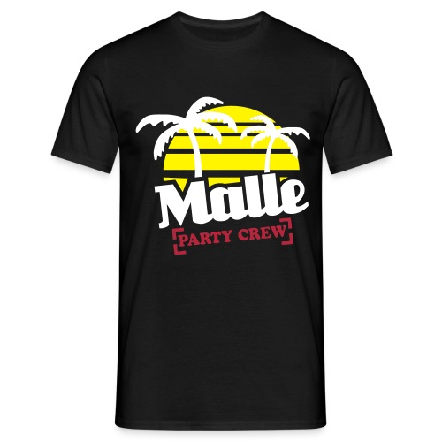 Malle Party Crew Herren Shirt - Männer T-Shirt