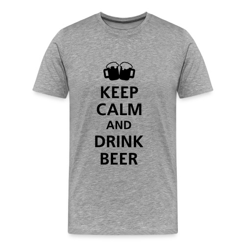 Keep Calm Herren Shirt - Männer Premium T-Shirt
