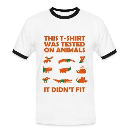 animal tested - Men's Ringer Shirt