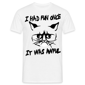 It was awful - Men's T-Shirt