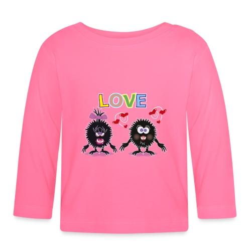 Blorpen-t-shirt LOVE - Långärmad T-shirt baby