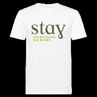 T-Shirts ~ Männer Bio-T-Shirt ~ Organic Herren Shirt - weiß