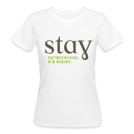 T-Shirts ~ Frauen Bio-T-Shirt ~ Organic Frauen Shirt - weiß
