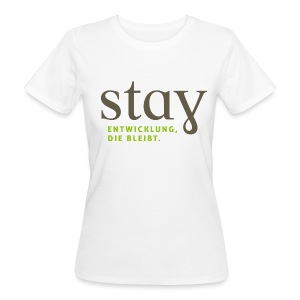 Organic Frauen Shirt - weiß - Frauen Bio-T-Shirt