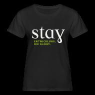 T-Shirts ~ Frauen Bio-T-Shirt ~ Organic Frauen Shirt  - schwarz