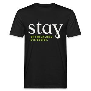 Organic Herren Shirt - schwarz - Männer Bio-T-Shirt