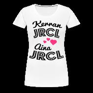 T-paidat ~ Naisten premium t-paita ~ Kerran JRCL, aina JRCL