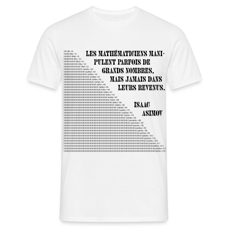 maths - T-shirt Homme