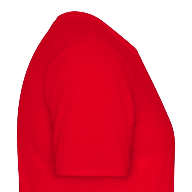"T-shirt homme rouge ""Crazy Horse"""