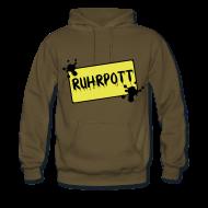 Pullover & Hoodies ~ Männer Premium Kapuzenpullover ~ Ortsschild Ruhrpott Pullover