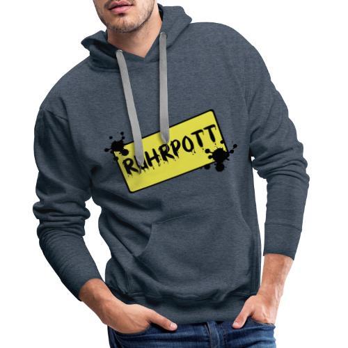 Ortsschild Ruhrpott Pullover - Männer Premium Hoodie