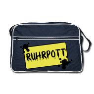 Taschen & Rucksäcke ~ Retro Tasche ~ Ortsschild Ruhrpott Tasche