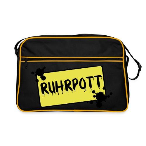 Ortsschild Ruhrpott Tasche - Retro Tasche