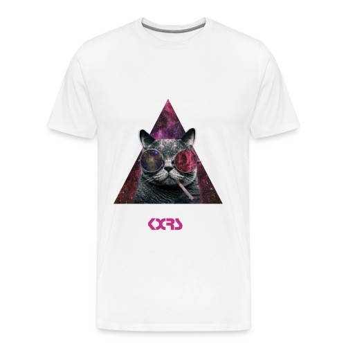 TRIANGLE  Cat - T-shirt Premium Homme