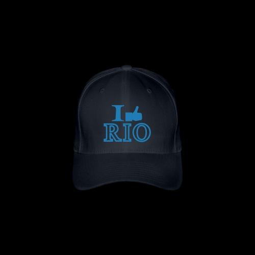 I LIKE RIO GLITTER TEE SHIRTS - Flexfit Baseball Cap
