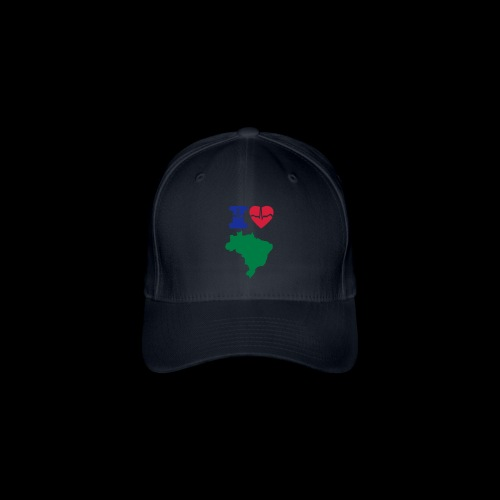 I LOVE BRAZIL - Flexfit Baseball Cap