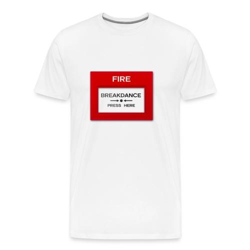 Breakdance Alarm - Men's Premium T-Shirt