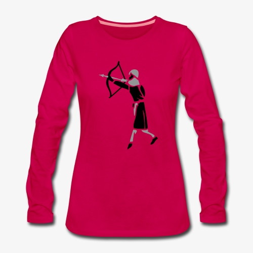 Combat Archer Medieval by patjila - Women's Premium Longsleeve Shirt