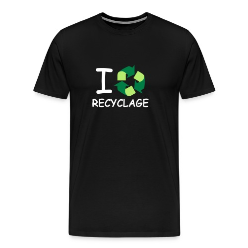 T-Shirt I Love Recyclage - T-shirt Premium Homme