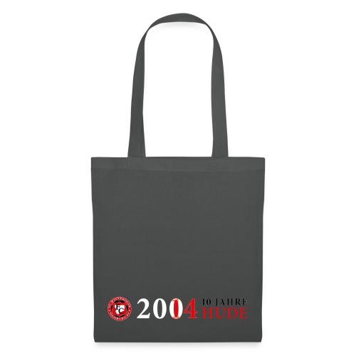 10 Jahre HUDE Logo - Beutel - Stoffbeutel