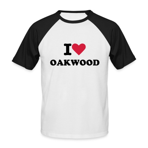 I love Oakwood T shirt - Man - Men's Baseball T-Shirt