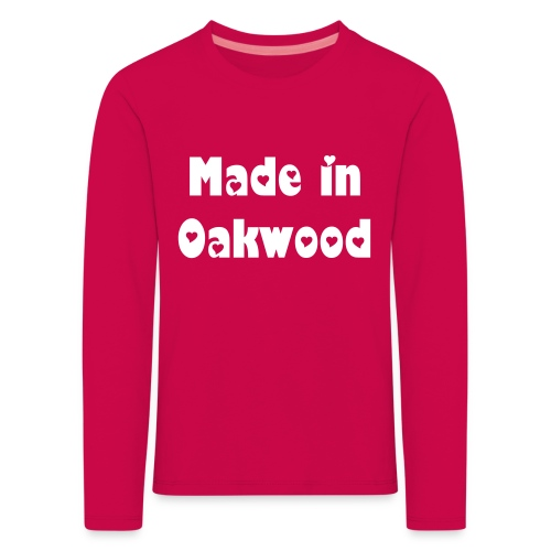 Made in Oakwood long sleeve - kids - Kids' Premium Longsleeve Shirt