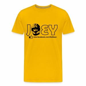 The Official Joey Dunlop Facebook T-Shirt - Mens - Men's Premium T-Shirt