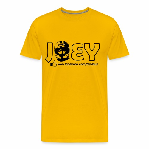The Official Joey Dunlop Facebook T-Shirt - Mens - Premium T-skjorte for menn