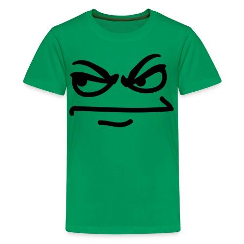 T-Shirt Ado 'Smiley pas content' - T-shirt Premium Ado