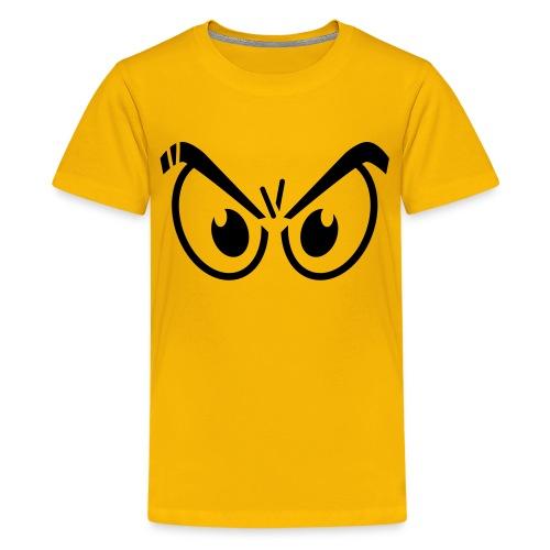 T-Shirt Ado 'Yeux en colère' - T-shirt Premium Ado
