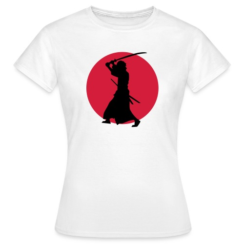 Samurai Warrior  - Women's T-Shirt