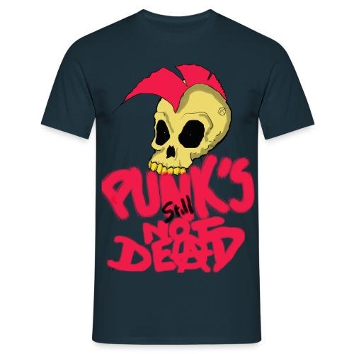 punk s still not dead - T-shirt Homme
