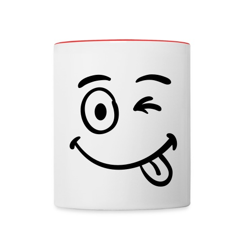 tasse rigolotte - Mug contrasté
