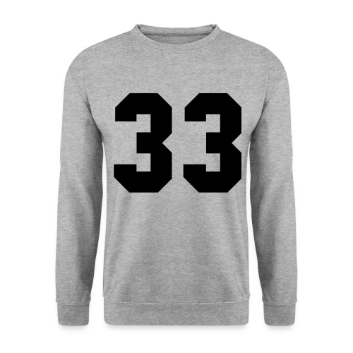 33 sweater - Men's Sweatshirt