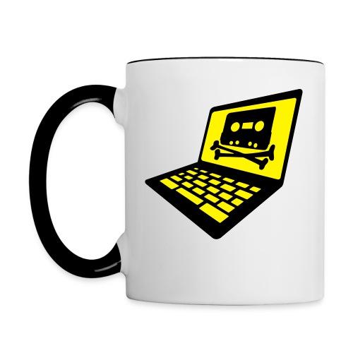 Piratebay  Becher - Tasse zweifarbig