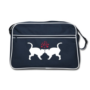 Cats in love bag - Sac Retro